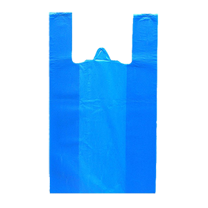 Пакет майка, 42*75 см, 15 мкм, цветная/прозрачная
